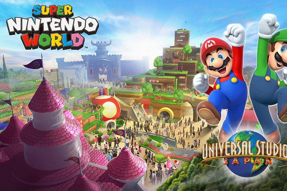 [Actu] Super Nintendo World, le parc d'attractions arrivera au Japon 2020
