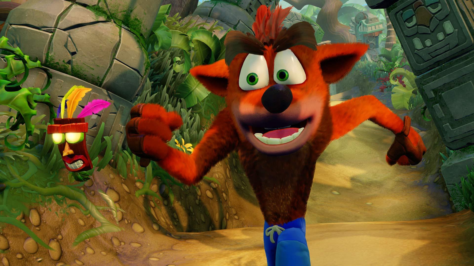 [Jeux Vidéo] Comparaison de Crash Bandicoot sur PS4 et PS1