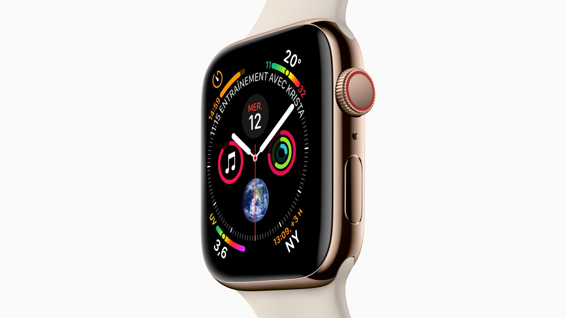 [Nouvelles Technologies] L'Apple Watch Series 4, plus grande et plus puissante