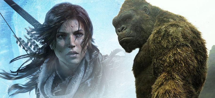 [Actu] Netflix va réaliser deux séries animées sur Tomb Raider et King-Kong